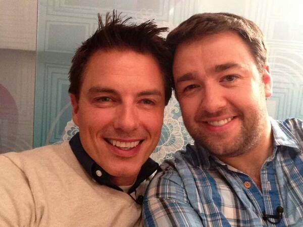 Jason manford and john barrowman