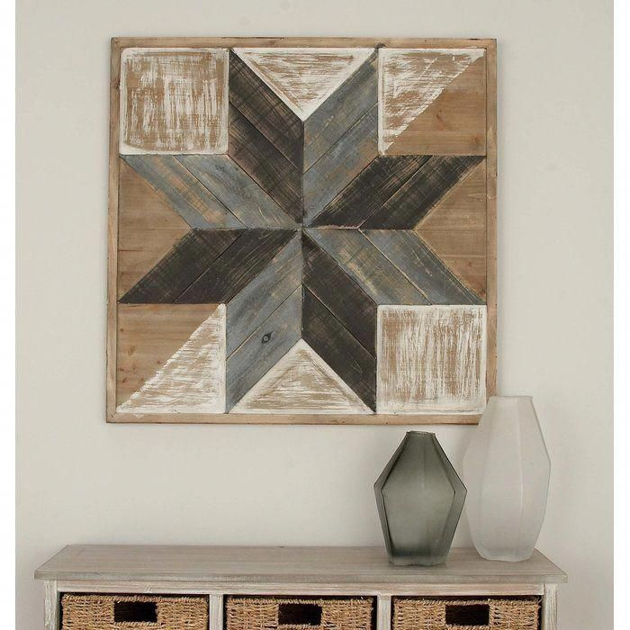 Wood Wall Decor From Birch Lane Buildwoodtable In 2019 Wood