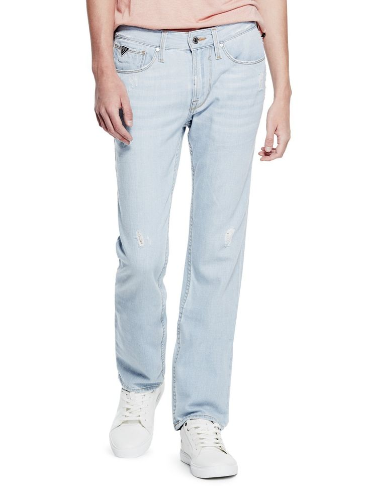 Slim Straight Max Stretch Jeans