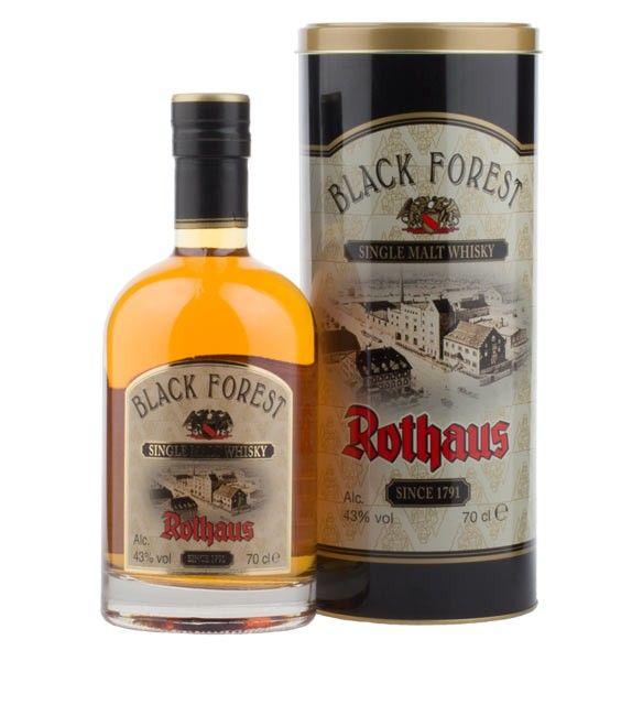 Rothaus: Black Forest Single Malt Whisky / 43 % vol. / 0,7 Liter-Flasche in Geschenk-Dose