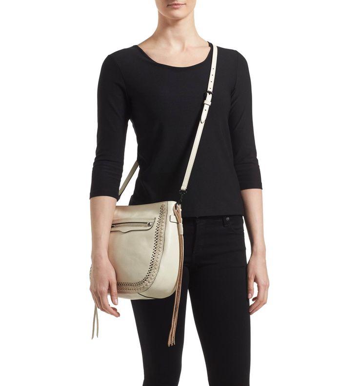 Main Image - Rebecca Minkoff 'Regan Feed' Studded Bag (Nordstrom Exclusive)