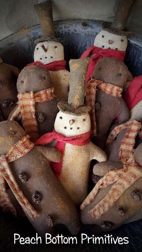 238 Best Prim Snowman Patterns Images On Pinterest