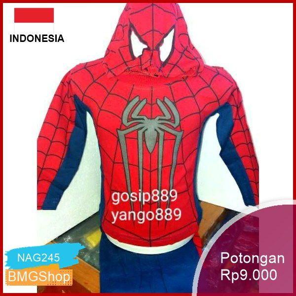 Baju Spiderman Anak