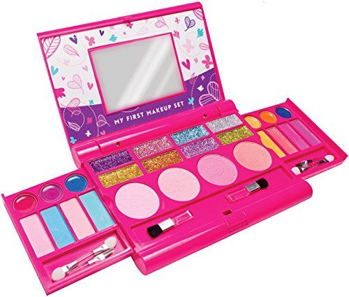 Pretend Play Beauty Toy Cosmetics Girls Kids Safe Makeup Toy Cosmetic Toys For Children Eyeshadow Box Palette Box Sets Fancy Colours Beauty & Health