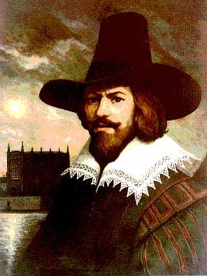 "Guy Fawkes.   ""Remember, remember the 5th of November..."""