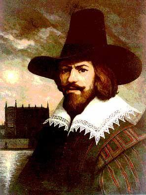 Guy Fawkes, Member of the Gun Powder Plot, Born in York.