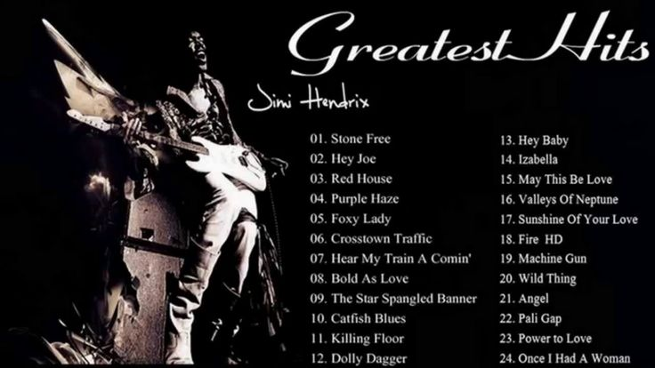 Best of Jimi Hendrix Greatest Hits