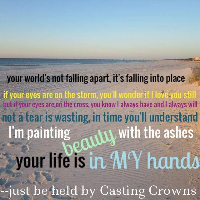 Just Be Held Lyrics
