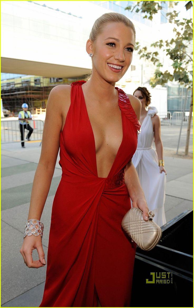 Blake Lively - Emmy Awards 2009, very sexy dress
