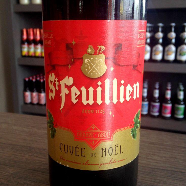 St Feuillien Cuvée de Noël #cerveja #beer