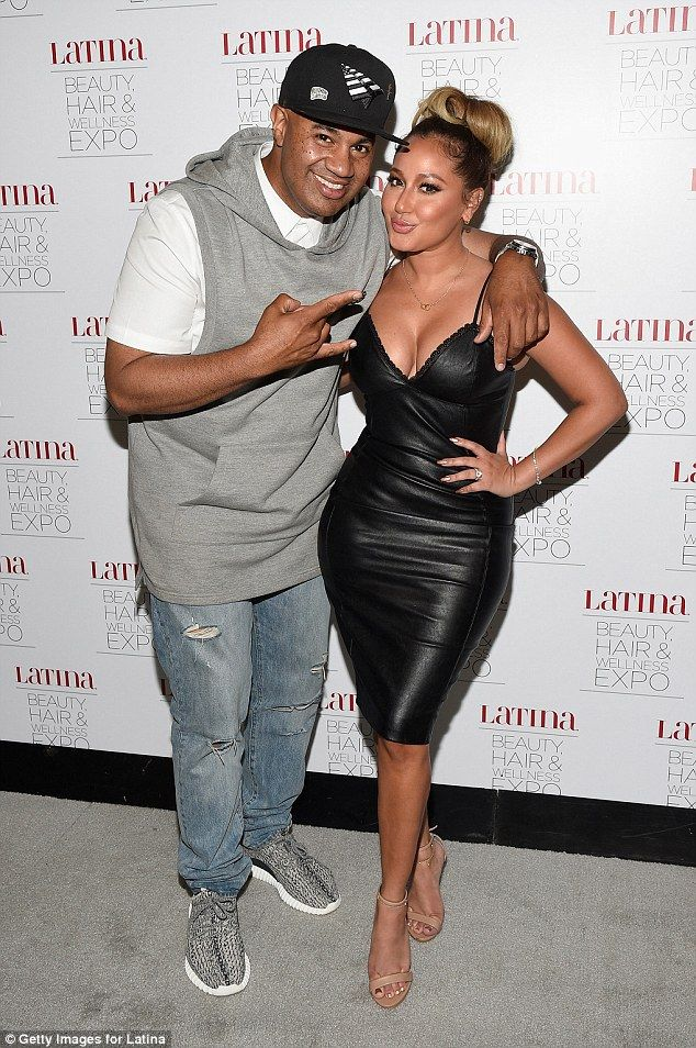 No more love: The starlet and Lenny Santiago were in a relationship for six years and beca...