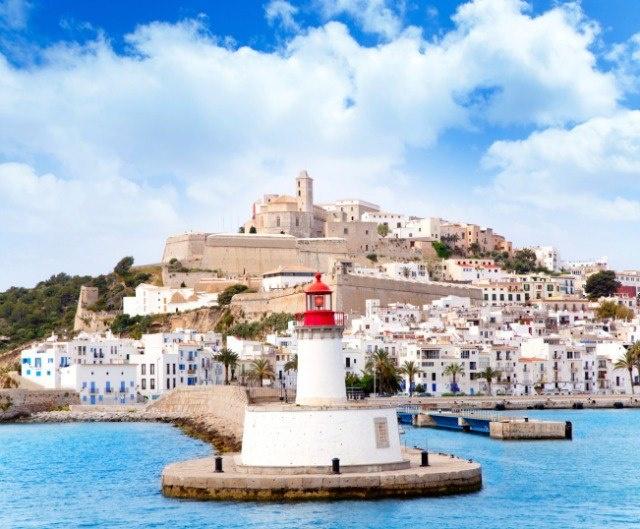 Port of Eivissa Ibiza, Balearic Islands, Spain