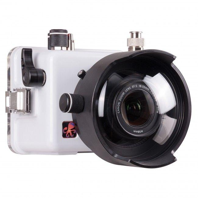 Ikelite Dslr Underwater Housing And Canon Eos 100d Sl1 Camera Underwater Camera Camera Underwater House
