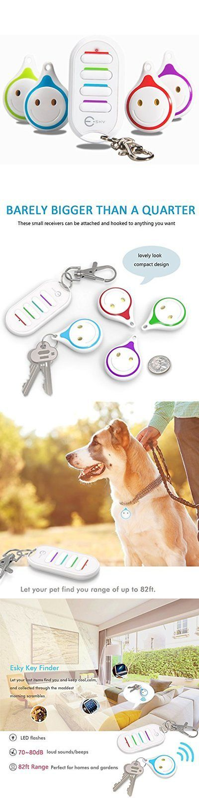 LED Light Key Chains: Wireless Rf Key Tags And Chains Item Locator Finder Phone Tracker Anything Cat -> BUY IT NOW ONLY: $30.75 on eBay!