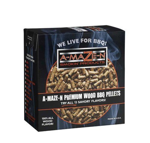 A-maze-n-pellets are made from 100% flavor wood. Each a-maze-n-pellet flavor is a 100% natural product with no added fillers, binders or oils. For example, if you order Apple, you get 100% Apple wood in the pellet, not 20% – 30% Apple wood & 70% – 80% Oak or Alder. New Golf PLR... more details available at https://www.kitchen-dining.com/blog/grills-outdoor-cooking/fuel-firestarters/product-review-for-a-maze-n-100-apple-bbq-pellets-2-lb/