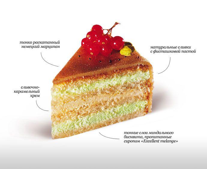 """Заказать и купить Торт """"Марципановый"""" в магазине элитных тортов Тортуа"""