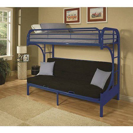 Save E In Your Child S Room With The Eclipse Twin Over Full Futon Bunk Bed That Available Multiple Colors This Convenient Doubles As A Couch