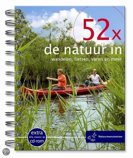 Maak kans op het boekje '52 x de natuur in' van Natuurmonumenten!