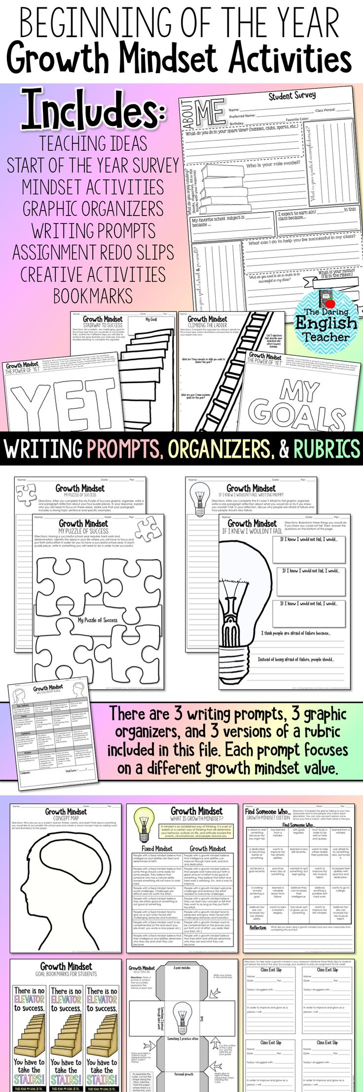 Third Person Worksheets Pdf Les  Meilleures Images Du Tableau Teaching Sur Pinterest  Esl Grammar Worksheet Pdf with Writing Formulas From Names Worksheet Pdf Back To School Growth Mindset Activities These And Those Worksheets