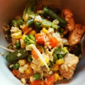 Don't Cave In: Fried Rice