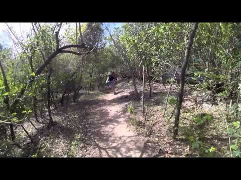 GoPro HD: Waterlemon Cay to Leinster Bay Hike St. John, USVI.  I filmed with the a GoPro HERO3 Plus Black on a GoPro head strap mount while hiking from Waterlemon Cay to Leinster Bay on St. John, USVI.  I had my DJI Phantom UAV inside of the bright yellow case =)