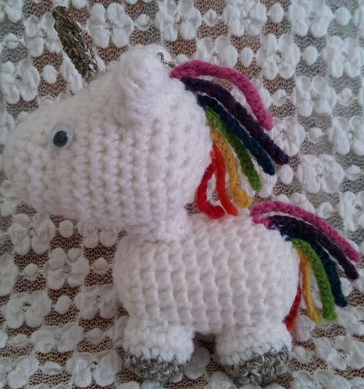 Unicorno. Amigurumi. Uncinetto. Crochet.