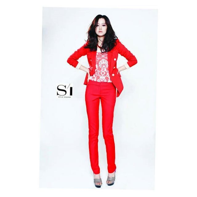 Moon chae won for style innerve spring 2013…