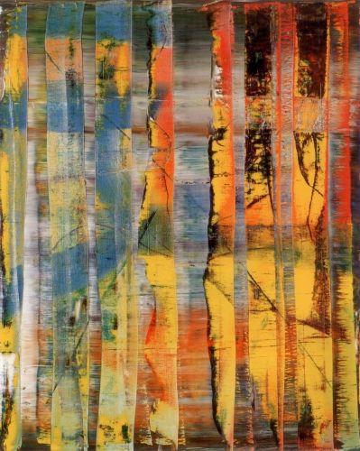 Tableau abstrait. Gerhard Richter