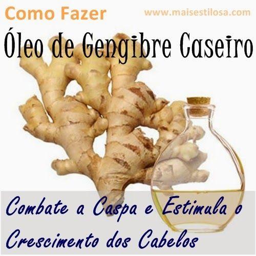 O óleo de gengibre é ótimo para combater a caspa e estimular o crescimento dos cabelos. Aprenda como fazer o óleo de gengibre caseiro.