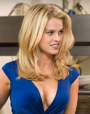 Alice Eve -beautiful hair