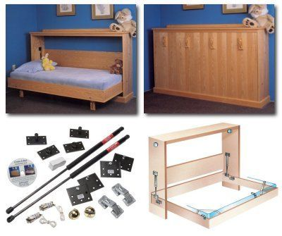 Hardware Kit for Side Mount Murphy Bed