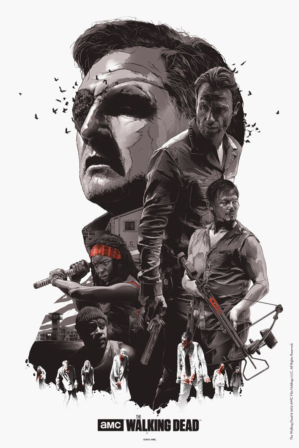 The Walking Dead #Movie #Poster
