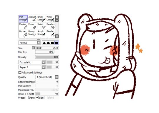Line Art Sai : Best images about brushes paint tool sai on pinterest