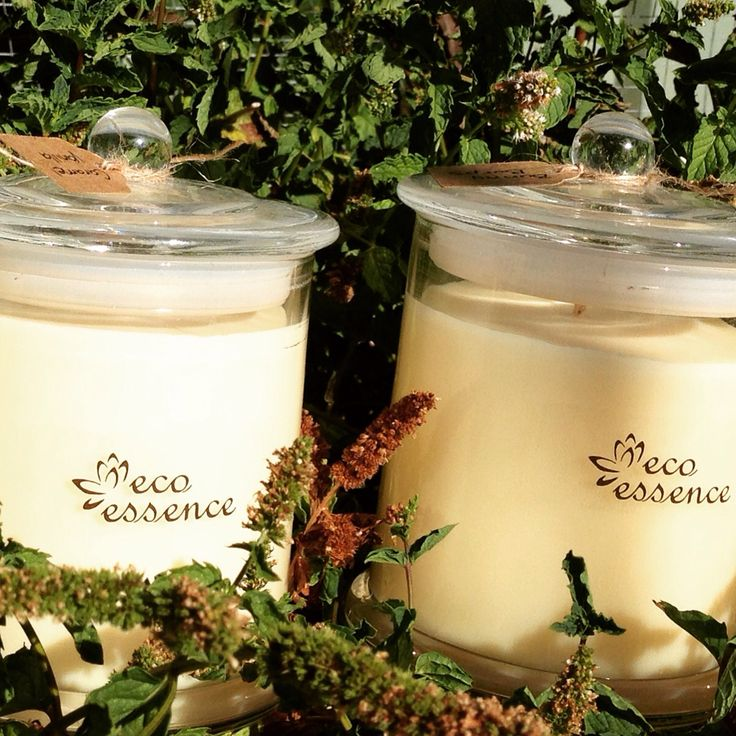 Hand crafted candles by Eco essence