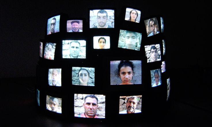 Kutlug Ataman | COLUMN (installation view) from the Mesopotamian Dramaturgies…