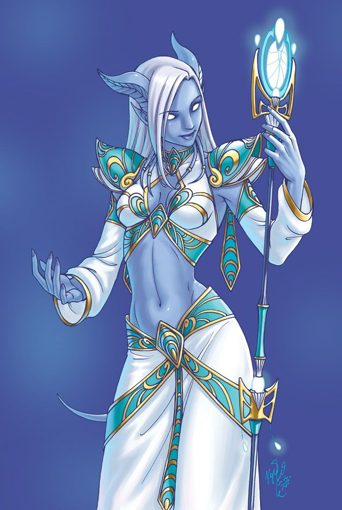 Draenei ~Yulcha | Not sure if benevolent healer or fearsome sorceress, but totally sure of epicness