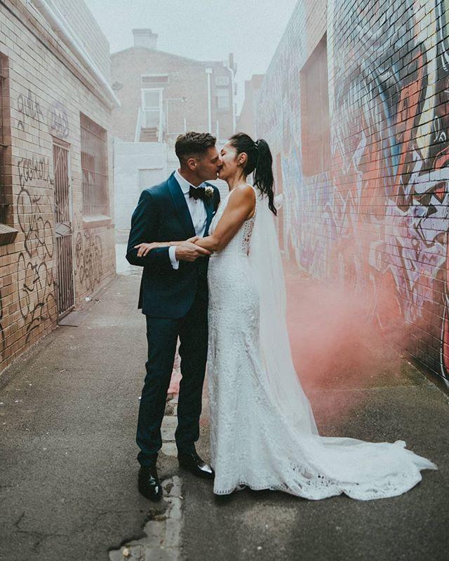 Tash And Pete S Smokin Bloom Filled Wedding Is Now Up On Nouba Blog Featuring Floristry By Pompandsplendour Link In Bio Melbournewedding