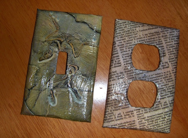 A Life Unprocessed Easy Artsy Lightswitch Plate Covers