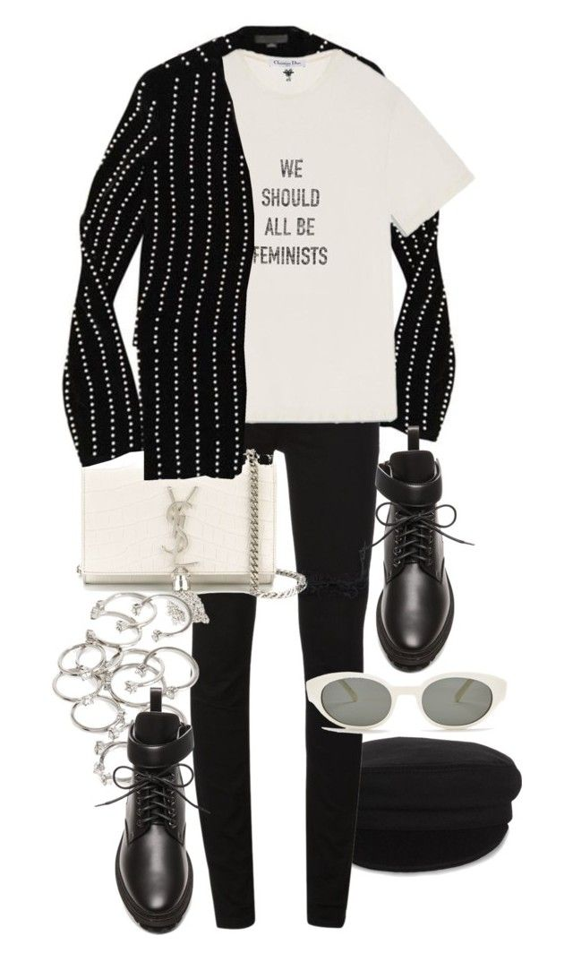 """""""Untitled #11472"""" by nikka-phillips ❤ liked on Polyvore featuring Étoile Isabel Marant, McQ by Alexander McQueen, Yves Saint Laurent, Forever 21 and Balenciaga"""