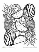 107 best images about Food Mandalas & Coloring on ...