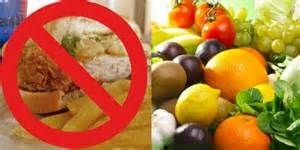 Say not to unhealthy fast food and yes to a healthy diet!