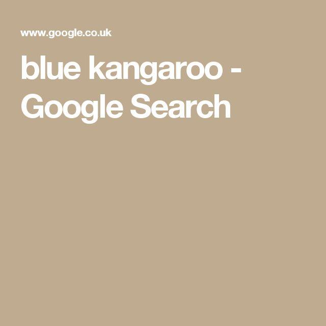 blue kangaroo - Google Search