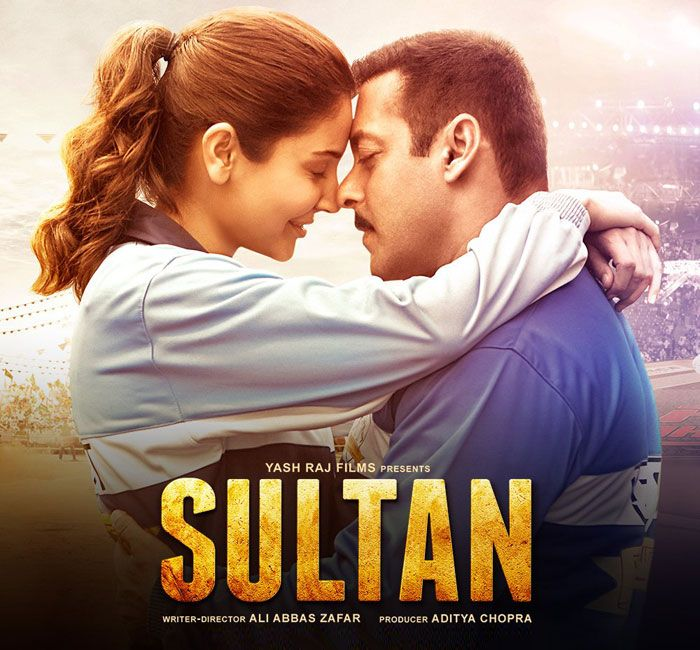 Sultan New Poster - Salman Khan, Anushka Sharma