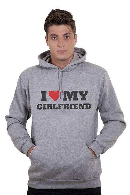 Sua namorada é ciumenta? Este moletom é a solução para seu problema.