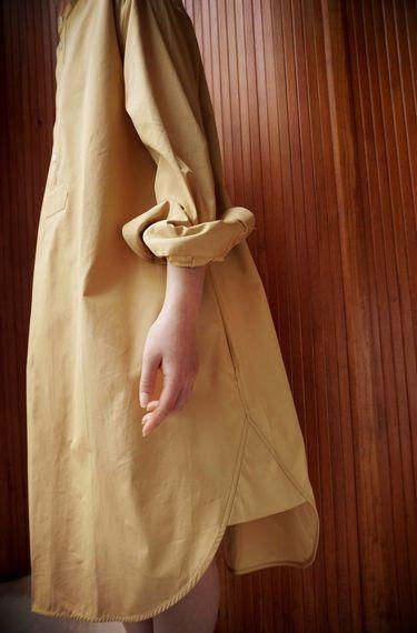 Studio Nicholson ( ENGLAND ) VICO A OVERSIZED SHIRT DRESS www.lancah.com