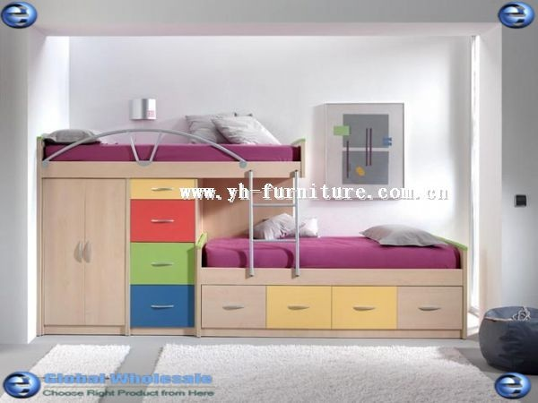 awesome bunks. don't like the colors but I like the shape & storage