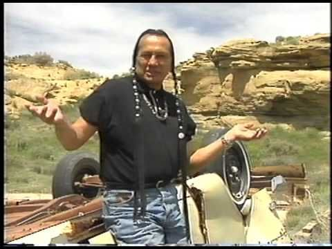 A Message From Russell Means - YouTube (The Mother Earth is alive & she's hurting)
