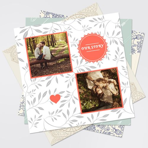 12x12 Digital Scrapbook Printed Pages - PrestoPhoto-I used premium matte one sided loose page prints-the best ever!!  I'll use it as custom scrapbook backgrounds!