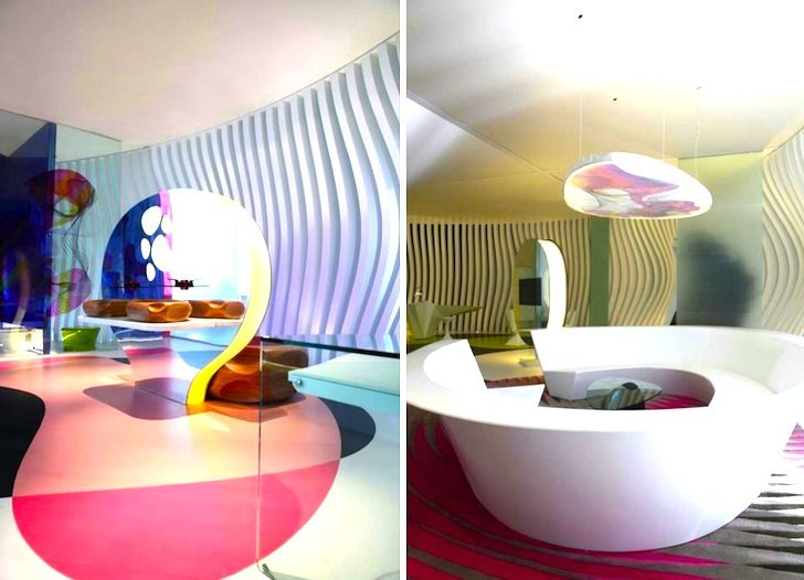 Karim Rashidu0027s Amazing Komb House In Cairo Bursts With Eco Friendly Color
