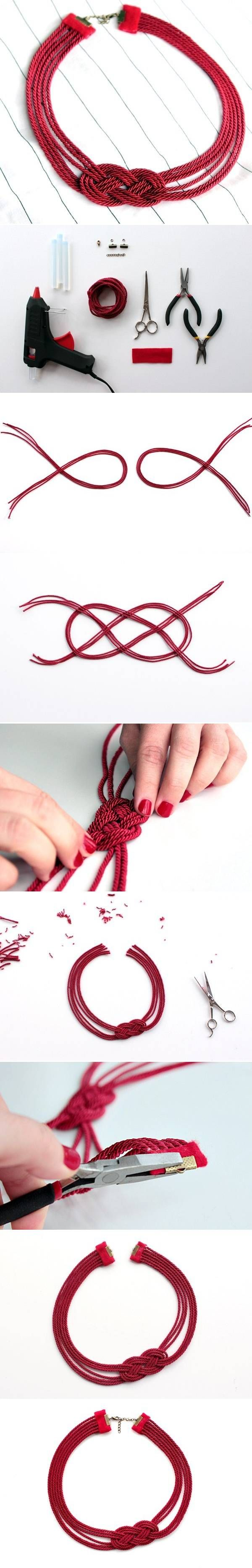 DIY Cord Necklace